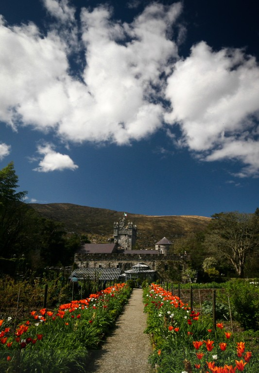 Glenveigh Castle Gardens - Landscapes of Ireland - County Donegal and the Wild Atlantic Way