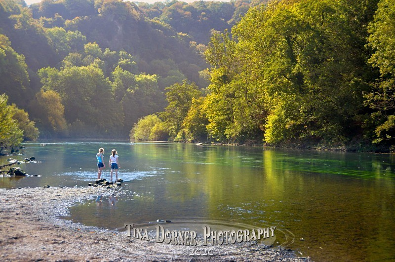 On the banks of River Wye, nr.  Symonds Yat by Tina Dorner Photography, Forest of Dean and Wye Valley, Gloucestershire