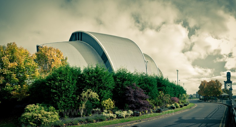 Clyde Auditorium - Armadillo - The outdoors