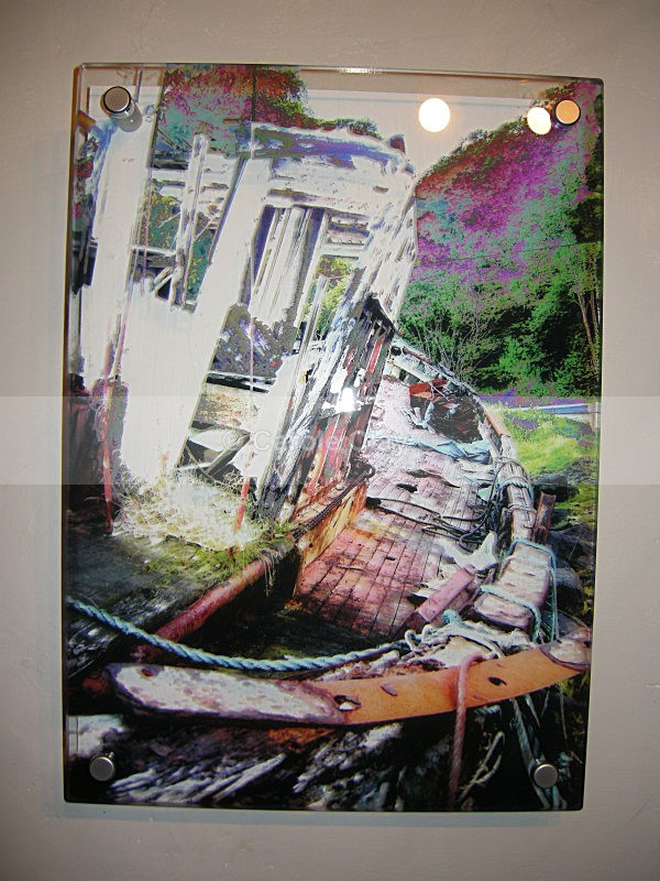 Derelict Boat 1 on Acrylic - Substrate Gallery