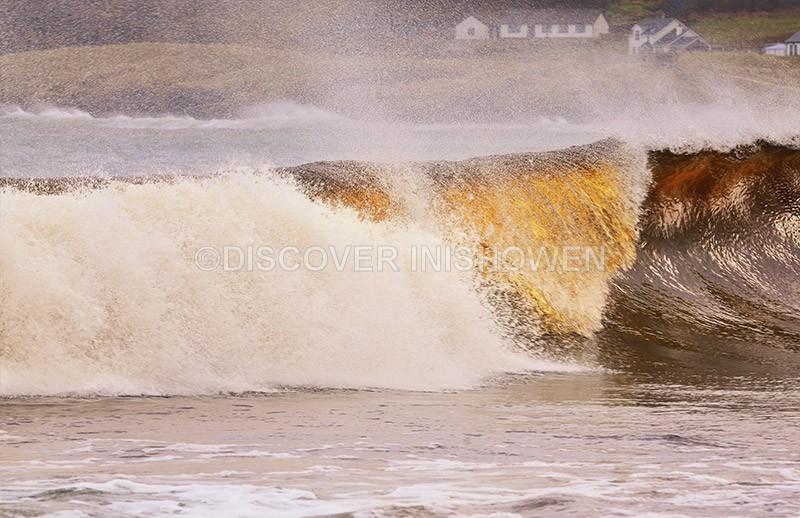 Wave at Culdaff Bay - Nature