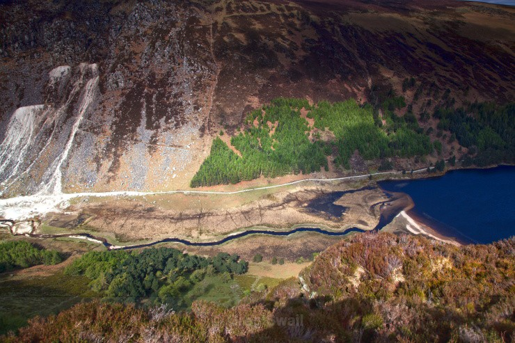 Mountain Drama - Landscapes of Ireland - Glendalough and the Wicklow Mountains
