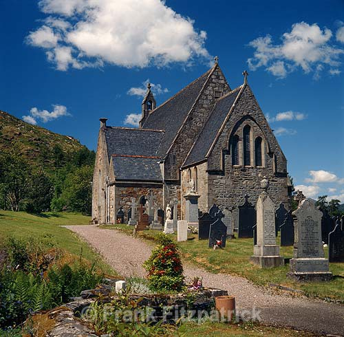 St Johns Episcopal Church Glencoe Argyll Scotland - Highland
