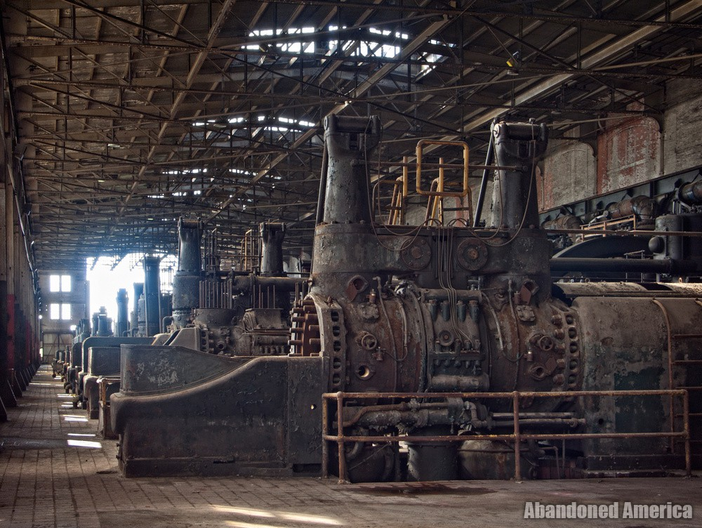 Bethlehem Steel (Bethlehem, PA) | Gas Blowing Engines - Bethlehem Steel