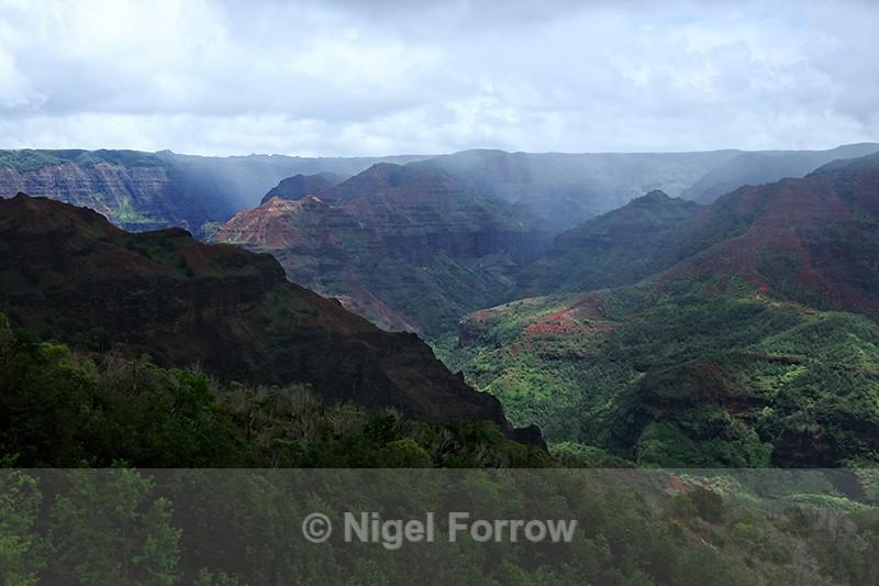 Waimea Canyon, Kauai, Hawaiian Islands - Hawaiian Islands, USA