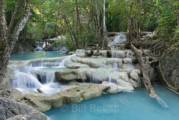 Erawan Falls - Travel