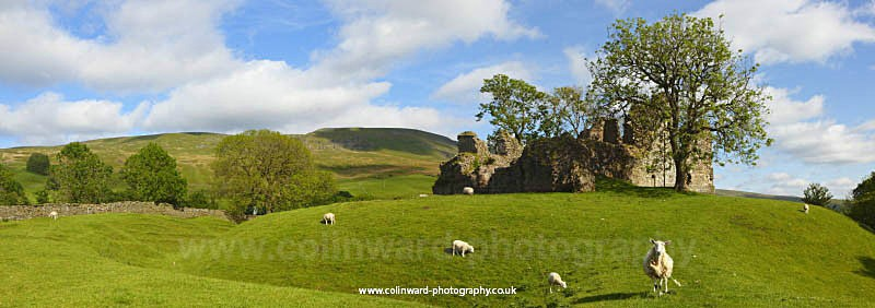 Pendragon Castle,Yorkshire Dales - The Pennines and The Lake District