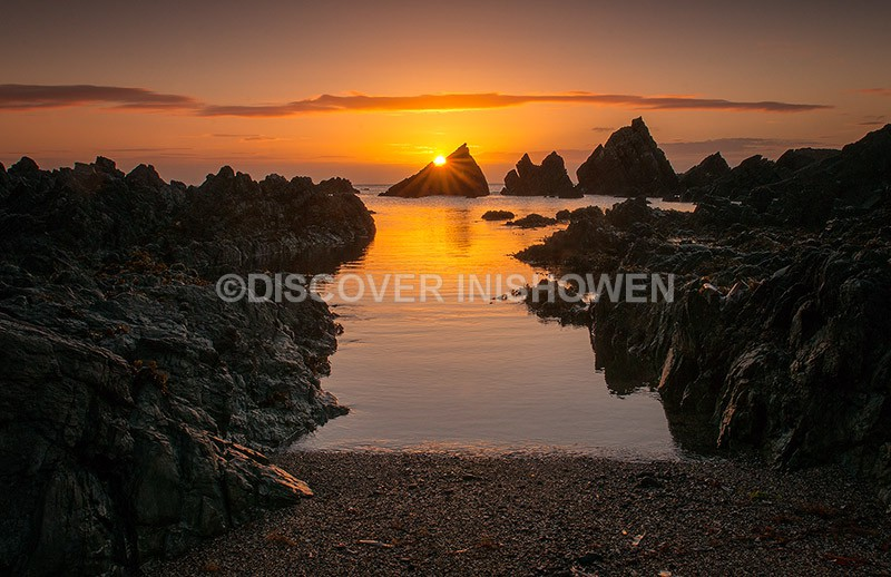 Sunrise at Redford, Culdaff - Nature
