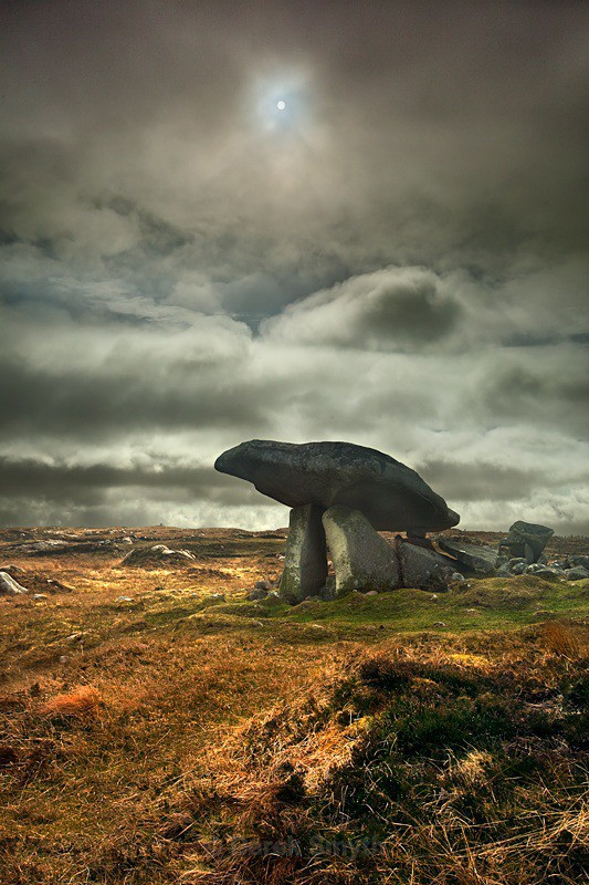 Donegal Portal Tombs - The Dolmen at Kilclooney More
