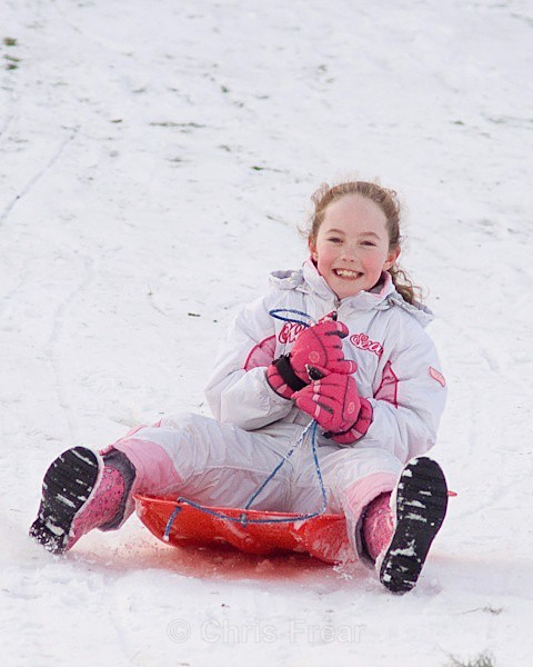 sled-3 - Sledging in the Snow
