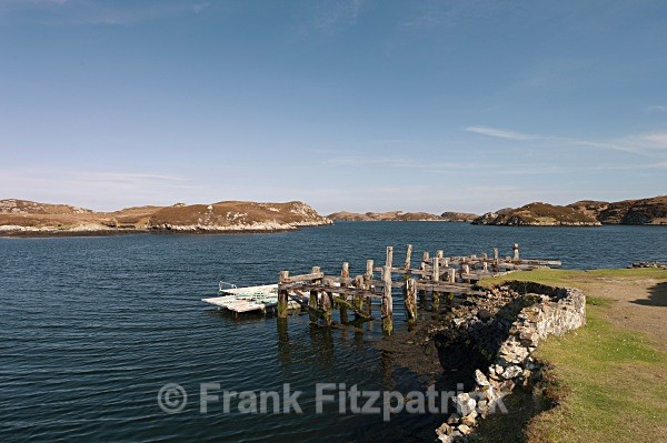 Loch Skipport, South Uist, Outer Hebrides. - Island of South Uist in the Outer Hebrides