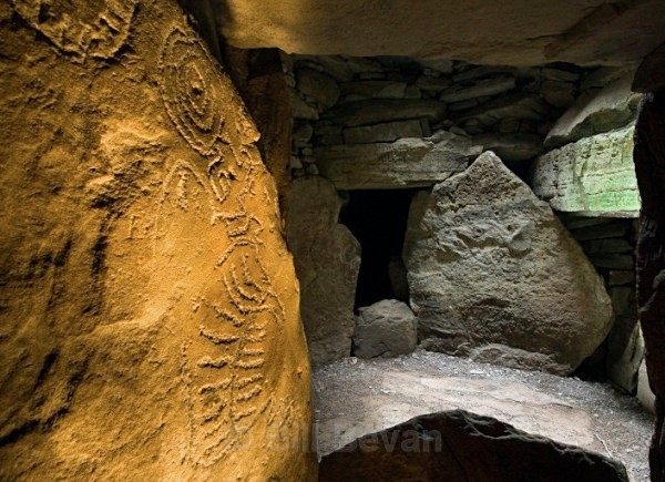 Loughcrew Chamber - Co Meath - Walk Into Prehistory