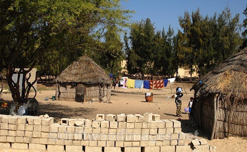 Senegal Fulani Senegal village general view 4 - Senegal Fulani Village