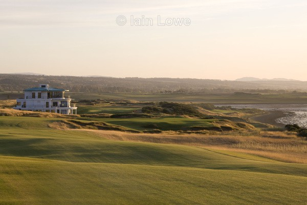 Castle stuart 18th fairway to green  9th  3rd on the point - Castle Stuart Golf Links