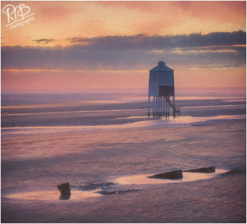 Burnham Lighthouse - Painterly - Creative Images