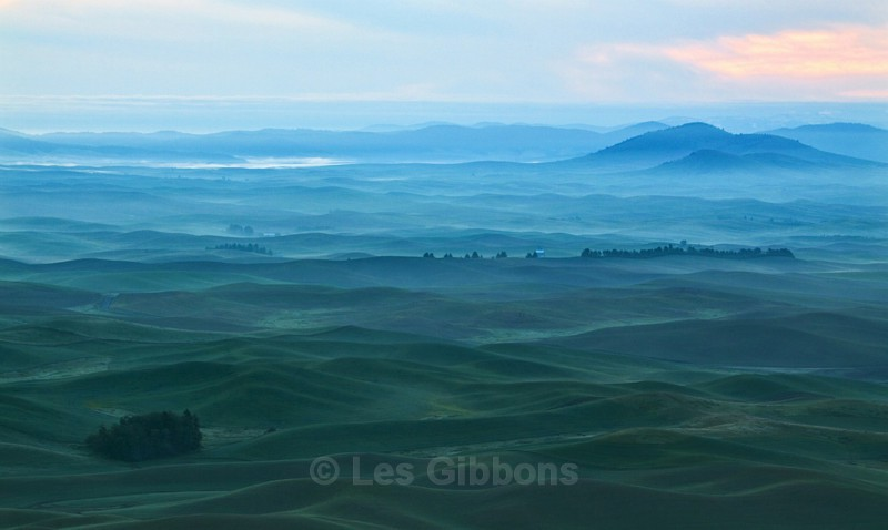 waiting for dawn - Palouse