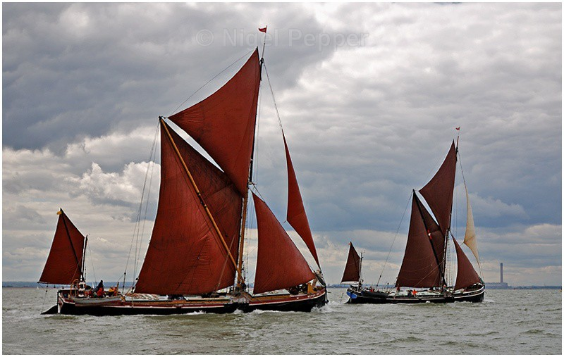 Racing Pair (5) - The Thames Barge Match