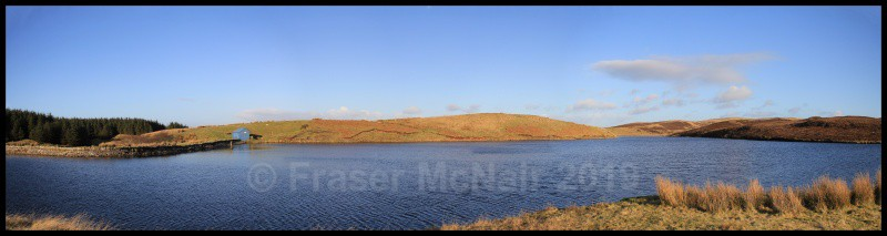 Killypole loch_Panoramaframed - Panoramic