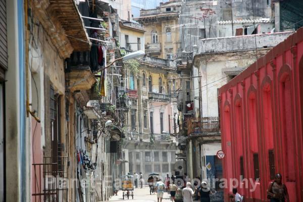 Havana Back Street - Cuba