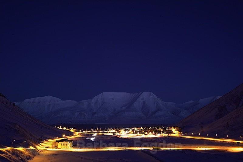 Longyearbyen 2922 - Polar night