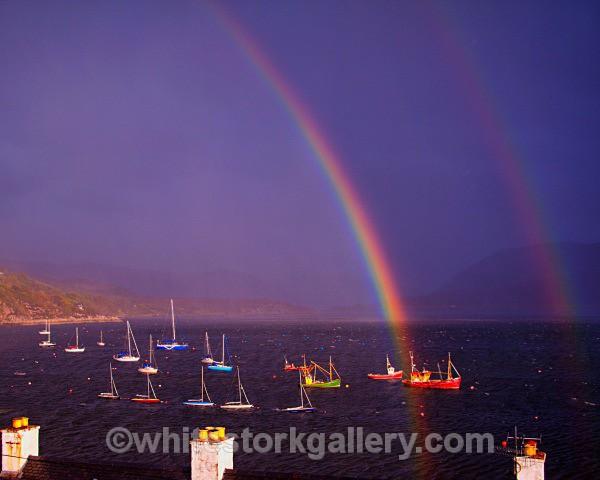 Double Rainbow, Ullapool - Scottish Highlands
