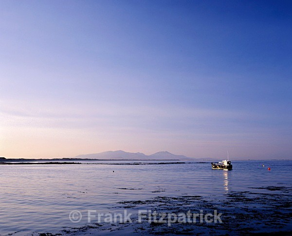 Ben More from Stinky Bay, Benbecula. - Benbecula