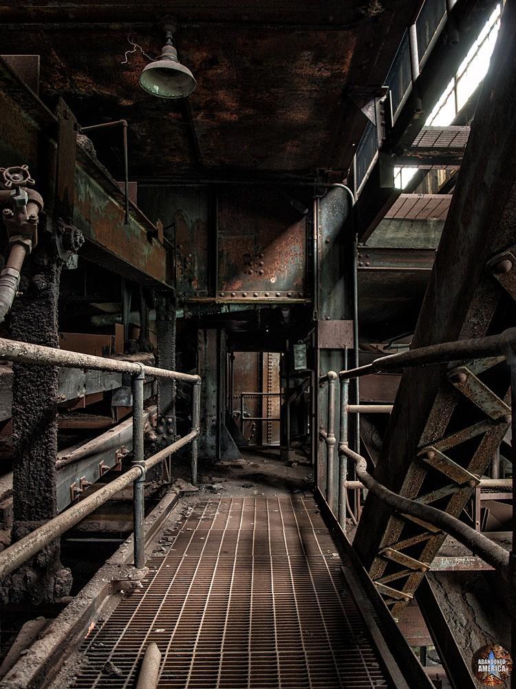 St. Nicholas Coal Breaker (Mahanoy City, PA)   Abstract Geometry - St. Nicholas Breaker