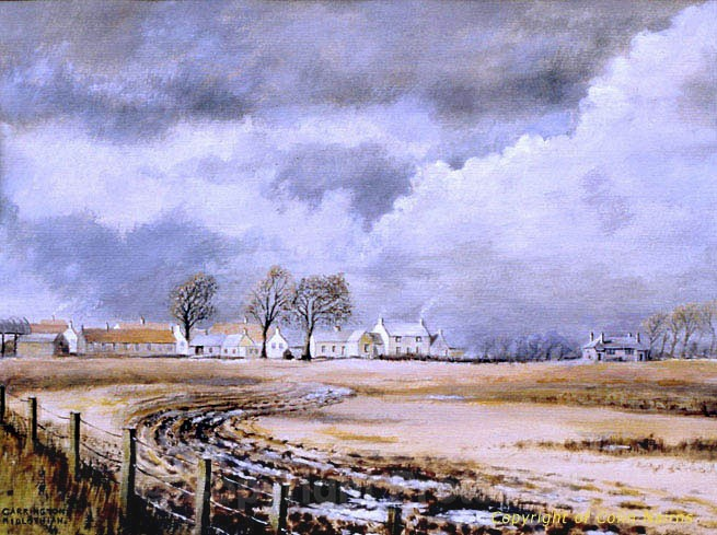 'Carrington Village, Midlothian' - Landscapes