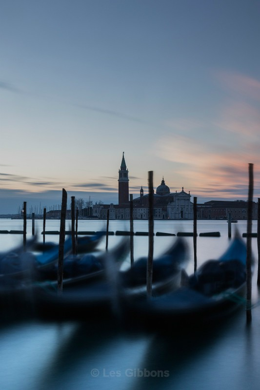 Dawn at the waterfront - Venice