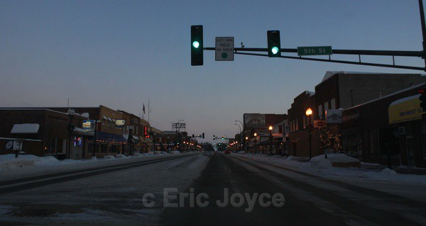 Main St. Christmas 2010 - Marshall, Minnesota