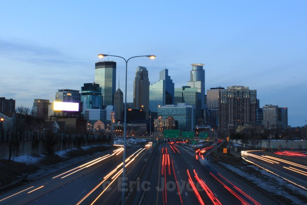 Minneapolis skyline - Minneapolis, Minnesota