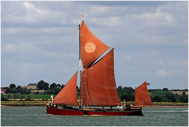 Melissa - The Pin Mill Barge Match