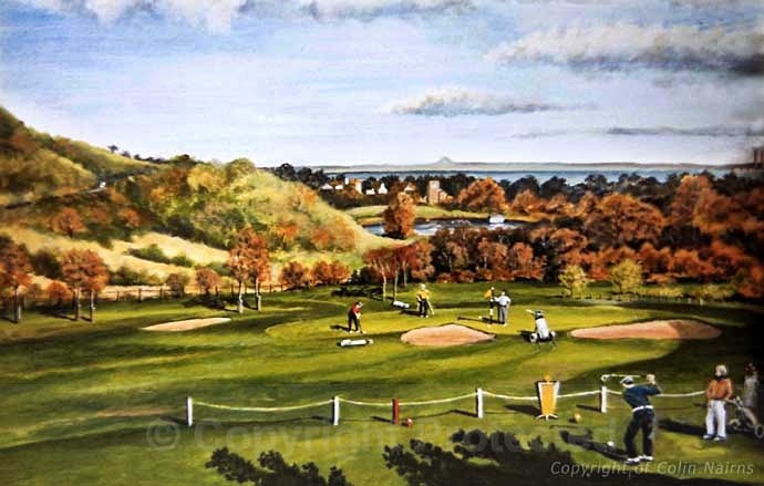 'Duddingston Golf Club, Edinburgh' - Landscapes