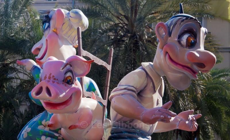 fallas pig - Valencia
