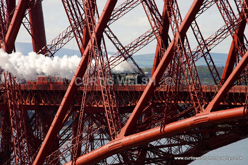 46115 - Forth Bridge - 17th April 2011 - Curtis Welsh - Preserved Railways