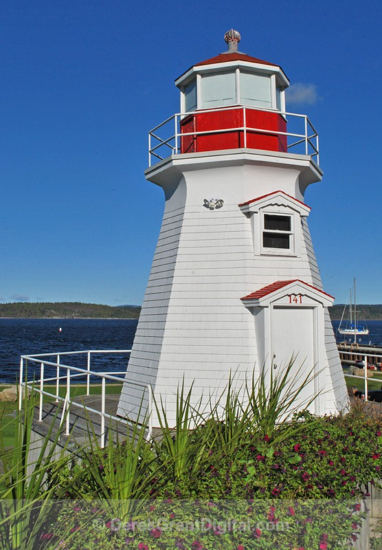 Renforth Lighthouse, Rothesay, New Brunswick - Lighthouses of New Brunswick