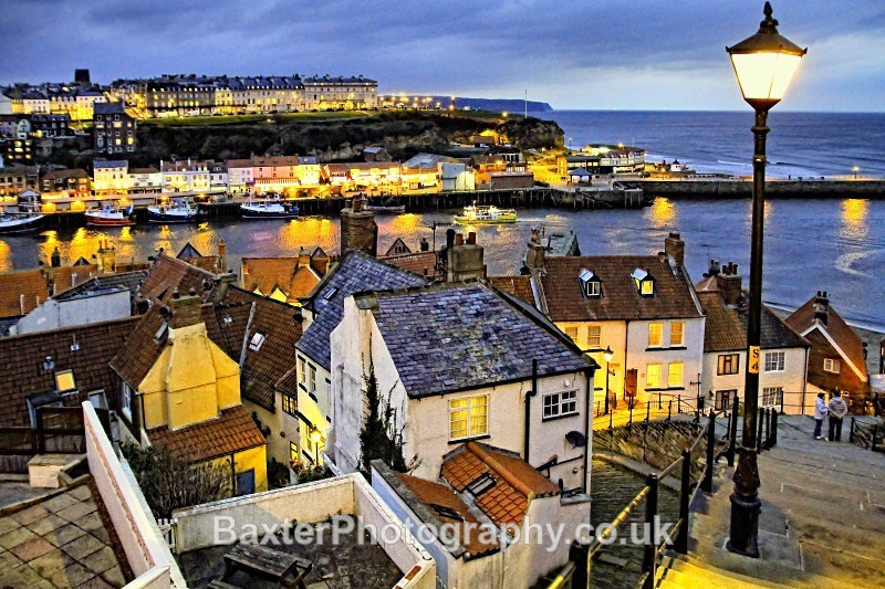 Whitby At Dusk - Whitby