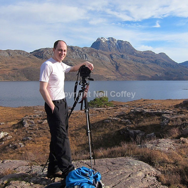 At Loch Maree, February 2013 - Personal