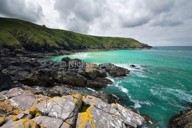 Pen Enys Point   Polgassick Cove St Ives   Cornwall Seascape Photos