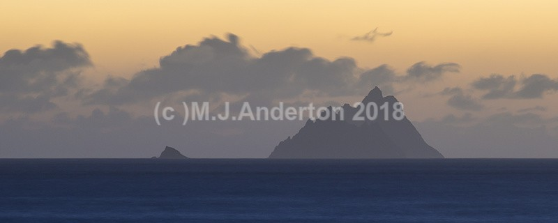 Skellig Islands Panoramic - Co.Kerry