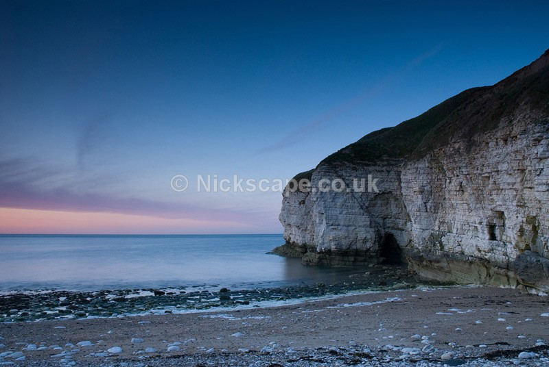 After Sundown at Thornwick Bay - Flamborough Head - Yorkshire Coast - Yorkshire