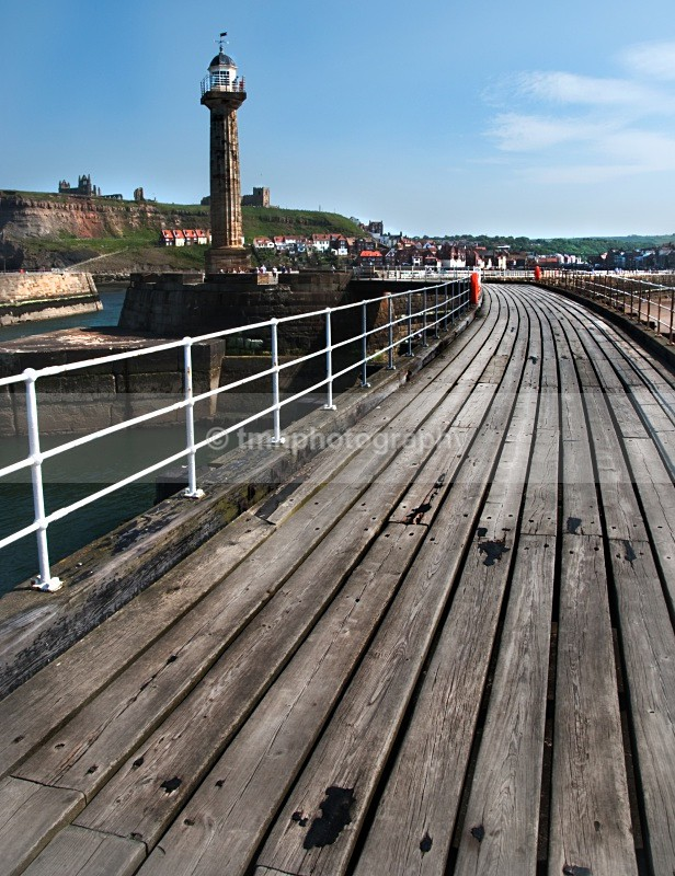 Whitby Pier - Yorkshire Coast