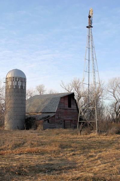 Old Farm - Barns & Remnants