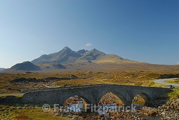 Cuillin moutains, Skye, Scotland from Sligachan - Isle of Skye
