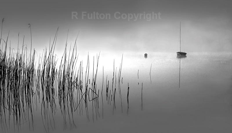 Daybreak Loch Awe - Mono