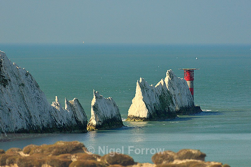 The Needles from Alum Bay - Isle of Wight, England