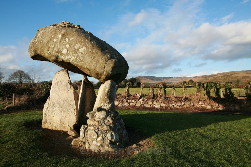 Proleek Dolmen - Ruins and Not So Ruined