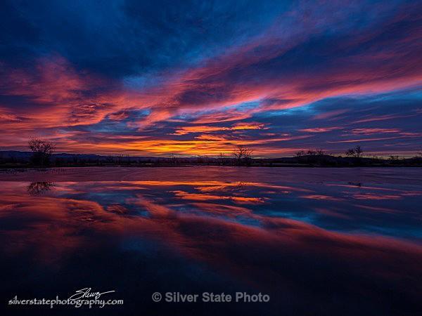 Harmon Reservoir Sunrise - Nevada (mostly) Landscapes