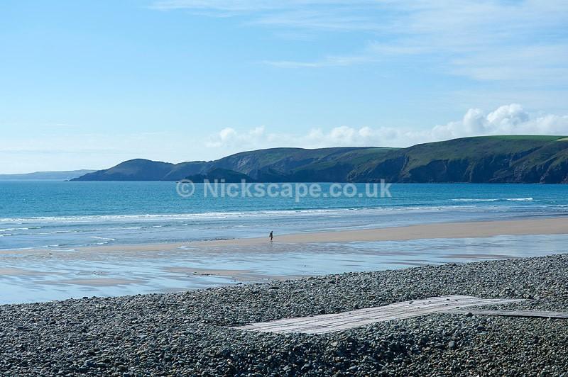 Photo of the beautiful Newgale Beach in Pembrokeshire