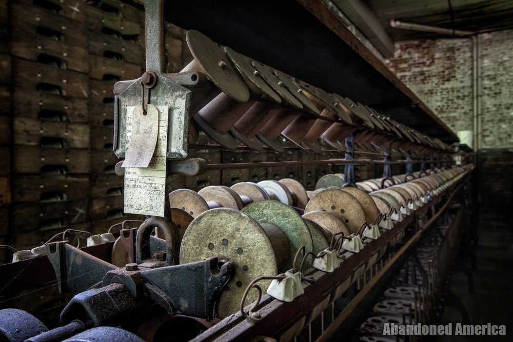 Klotz Throwing Company (Lonaconing MD) | Spools - Klotz Throwing Company